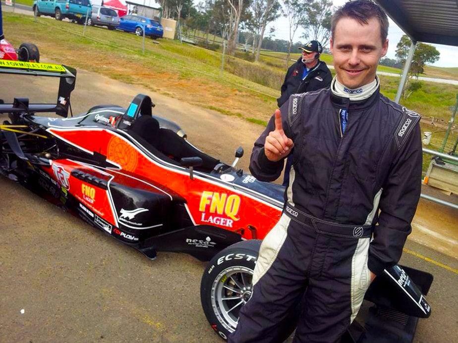 Magro's Formula 3 Victory at Sandown